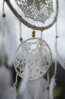 Dream Catcher, Indian, Indians, Feather, Spring Jewelry