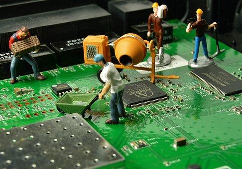 Work, Figure, Workers, Team, Man, Small, Figurine