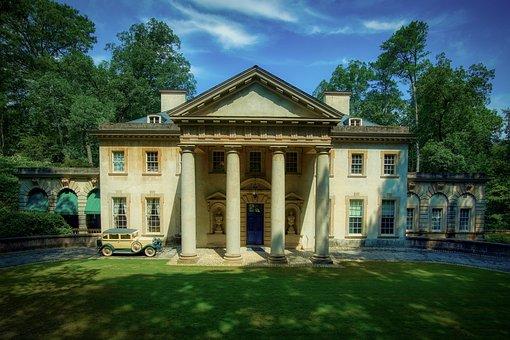 Swan House, Mansion, Atlanta, Georgia, America