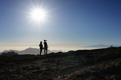 Canary Islands, Gran Canaria, Vacations, Summer, Selfie