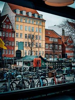 Copenhagen, Christianshavn, Harbour, Colourful, Houses