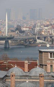 Estuary, Subway, Bridge, Baths, Istanbul, Süleymaniye