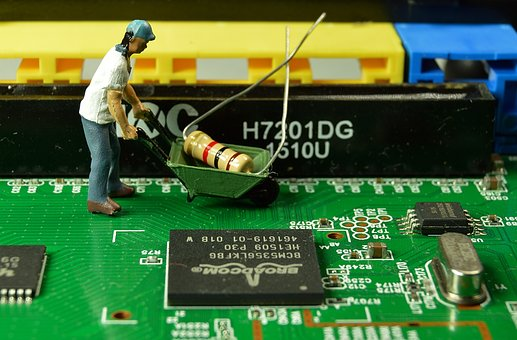 Miniature, Worker, Creative, Work, Small, Toys