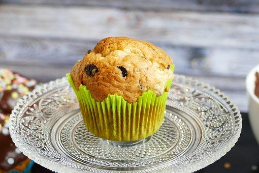 Muffin, Cupcake, Muffins, Bake, Dessert, Sweet