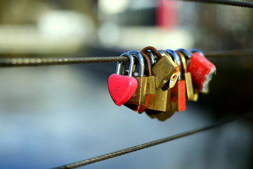Love Locks, Metal, Love, Love Symbol, Padlock, Padlocks