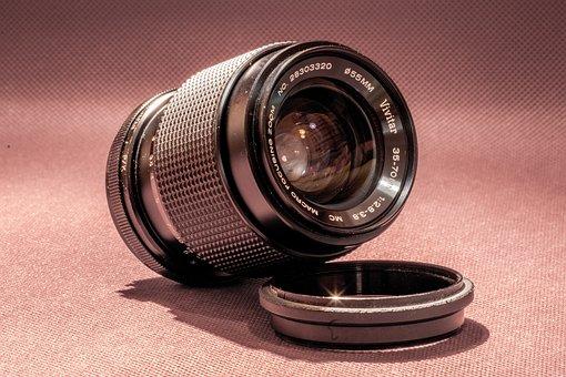 Lens, Photo, Analog, Old, Photographer, Professional