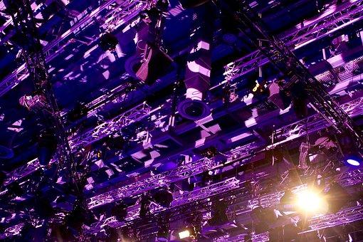 Light, Violet, Purple, Technology, Cross-bars