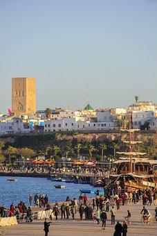 Rabat, Morocco, Beach, Hassan, Tower, Islam, Mosque