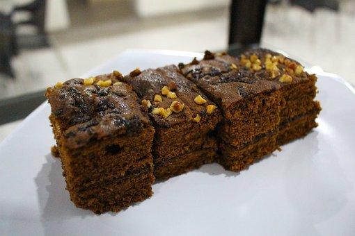 Brownies, Chocolate, Snack, Brownie, Sweet, Delicious