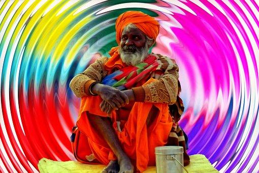 Sadhu, Color, Colorful, Hdr, Background, Wallpaper
