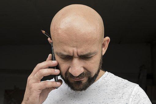 Man, Bald, Worker, Face, Male, People, Person, Men