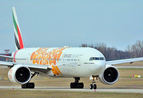 Airport, Flight, Boeing, 777, Airline, Aircraft