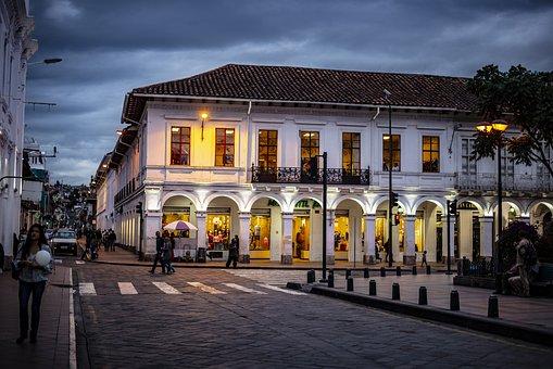 Basin, Ecuador, Architecture, City, Dome