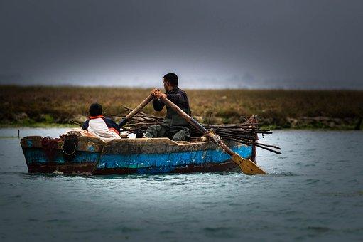 Boat, Fisherman, Water, Fish, Fishing Boat, Fishing