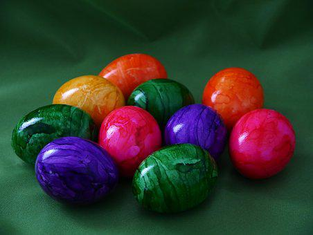 Easter, Easter Eggs, Colored, Egg, Colorful, Cheerful