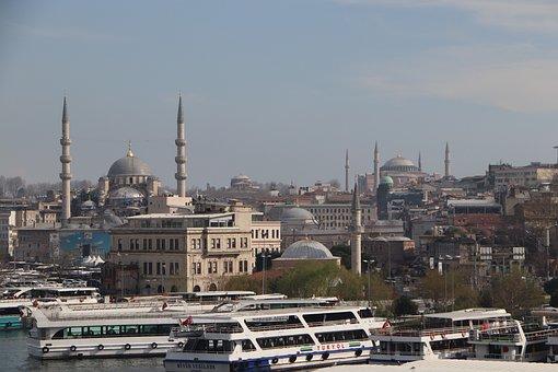 Eminönü, Cami, Fatih, Hagia Sophia, Istanbul, Turkey