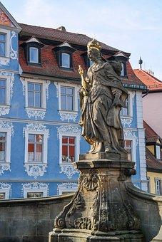 Empress Kunigunde, Woman Image, Monument, Bamberg