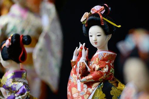 Memoirs Of A Geisha, Figure, Small, Asia, Japanese