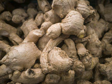 Ginger, Fresh, Raw, Food, Kitchen, Delicious, Vegetable