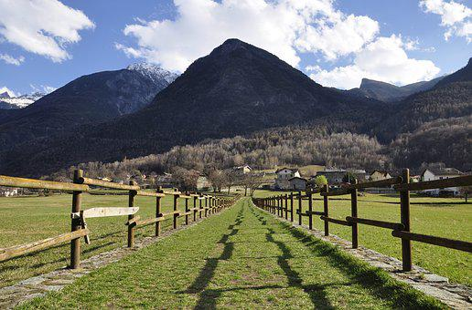 Valle D'aosta, Prato, Green, Grass, Nature, Landscape