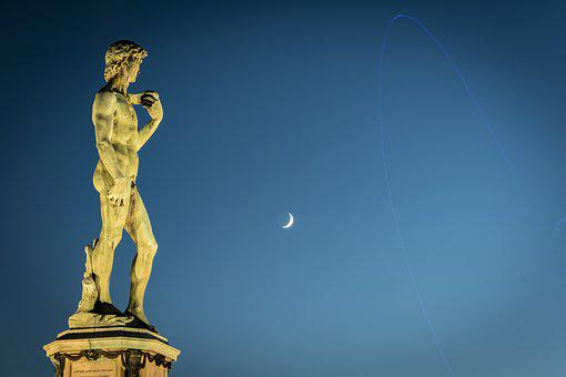 David, Florence, Statue, Sculpture, Italy, Tuscany
