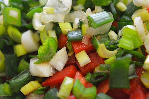 Comida, Cocina, Cebolla, Morron, Kitchen, Food, Cooking