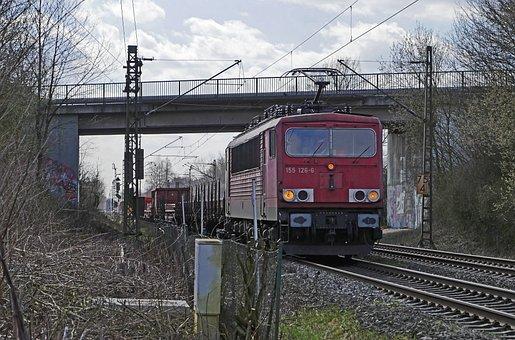 Railway, Freight Train, Rail Traffic, Transport