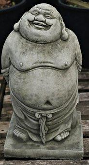 Chinese, Religion, Buddha, Statue, Sculpture, Figure