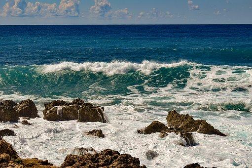 Rocky Coast, Sea, Nature, Landscape, Scenery, Rock