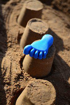 Sand, Sand Pit, Playground, Play, Toys, Leisure