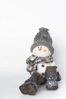 Snowman, Deco, Decorative Items, Decoration, Winter