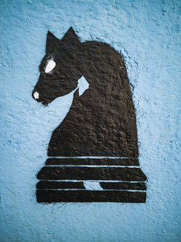 Horse, Chess, Game, Strategy, Strategic, Power