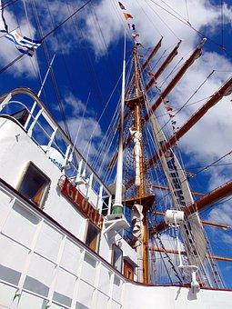 Silboat, Sailing Boat, The Sailing Ship, Sailing