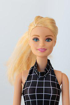 Doll, Barbie, Blond, Toys, Face, Pretty, Female