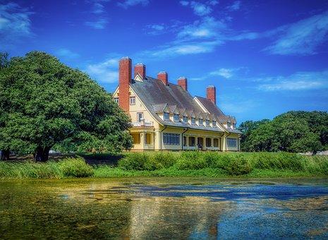 Whalehead House, Club, Home, Architecture, Landmark