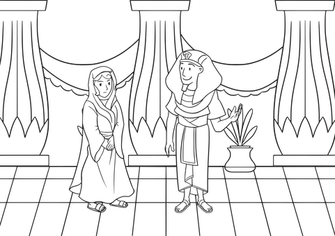 Bible, Christian, Comic Characters, Eqypt, Genesis