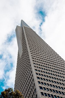 Transamerica Pyramid, San Francisco, Building, Pyramid