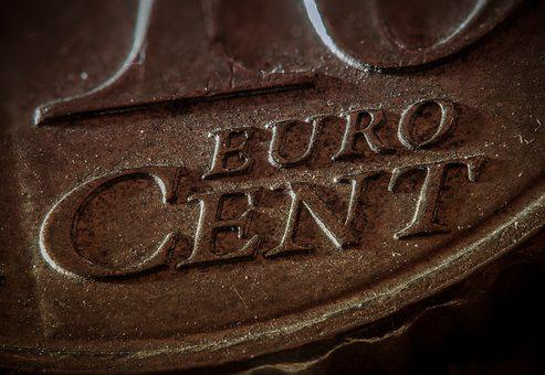 Euro, Coin, Penny, Money, Coins, Finance, Business