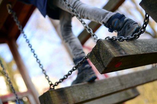 Playground, Climbing, Balance, Children's Playground