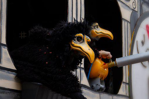 Mask, Basel Carnival, Fun, Move, Costume, Larva