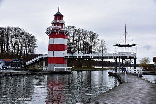 Harbor Village, Rheinsberg, Tourism, Brandenburg, Docks