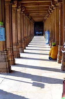 India, Muslim, Ahmedabad, Architecture, Tourism