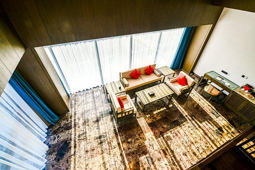 Interior Design, Living Room, Light, The, Decoration