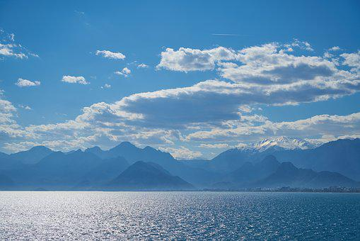 Mountain, Marine, Landscape, Nature, Mountains, Water