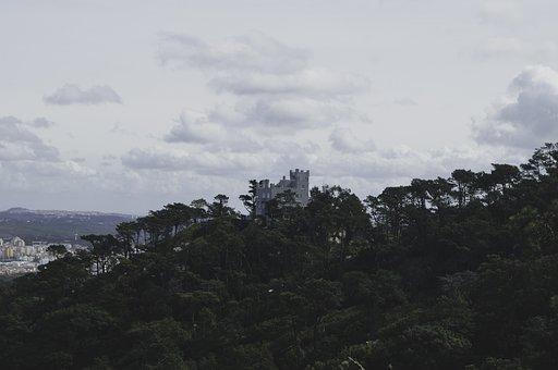 Castle, Landscape, Architecture, Fortress, Masonry