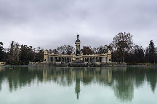 Lake, Mirror, Landscape, Reflection, Reflections, Blue