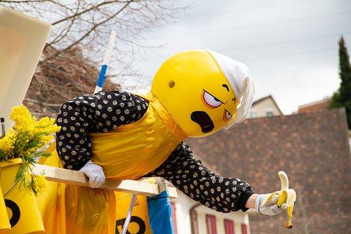 Basler Fasnacht, Move, Carnival, Mask, Switzerland