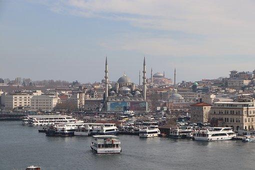 Istanbul, Eminönü, Fatih, Cami, Islam, Muslim, City