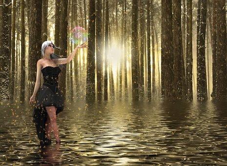 Fantasy, Fairy Tale, Magical Dream, Mystic, Mysterious
