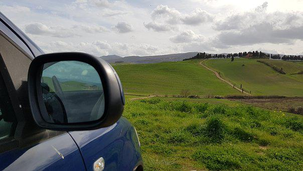Panorama, Travel, Car, Landscape, Nature, Vacations